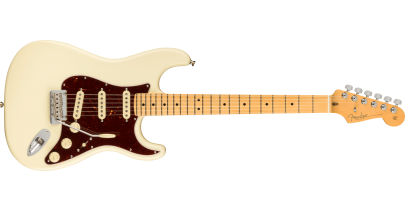 Fender American Professional 2 Stratocaster, Maple FIngerboard, Olympic White