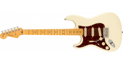 Fender American Professional 2 Stratocaster Left-Hand, Maple Fingerboard, Olympic White