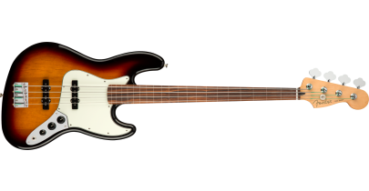Fender Player Fretless Jazz Bass, 3-Colour Sunburst