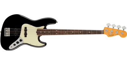 Fender American Professional 2 Jazz Bass, Rosewood Fingerboard, Black