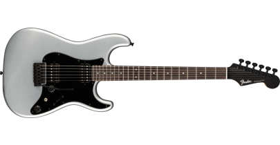 Fender Boxer Series Stratocaster HH, Rosewood Fingerboard, Inca Silver