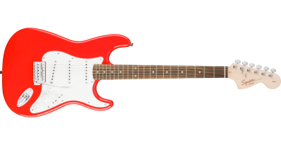 Squier Affinity Stratocaster, Race Red