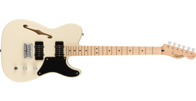 Squier Paranormal Cabronita Telecaster® Thinline, Olympic White