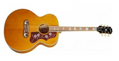 Epiphone J-200 Electro Acoustic, Aged Antique Natural Gloss