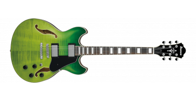 Ibanez AS73-GVG Semi-Hollow, Green Valley Gradation