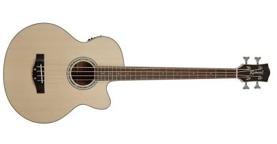 Richwood RB-102-CE Acoustic Bass, Natural