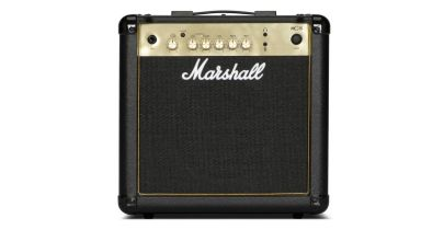 Marshall MG15GR 15w Black & Gold Combo w/Spring Reverb