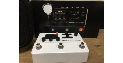 Pre-Owned Line 6 HX Stomp Limited Edition Multi Effects, Stomptrooper White