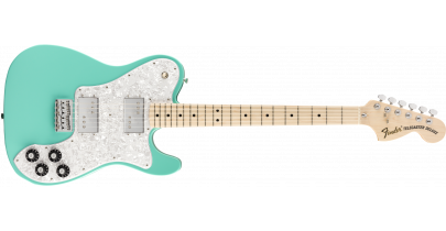 Fender 2020 Limited Edition Traditional 70s Telecaster Deluxe (Made In Japan), Seafoam Green