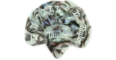 Taylor Celluloid 351 Thermex Ultra Picks 0.71mm, 12-Pack