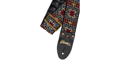 "Gibson ""The Mosaic"" Guitar Strap"