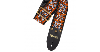"Gibson ""The Orange Lily"" Guitar Strap"