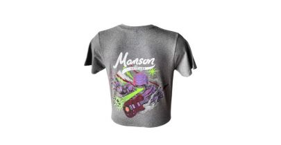 Manson Guitars Murph T-Shirt, Grey, Medium