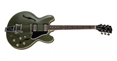 Gibson Chris Cornell Tribute ES-335, Olive Drab Green w/Bigsby