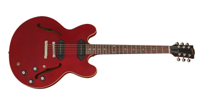 Gibson ES-335 DOT P-90, Wine Red