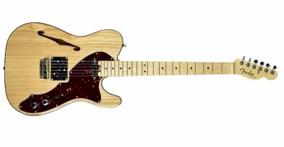 Pre-Owned Fender American Elite Telecaster Thinline (Natural)