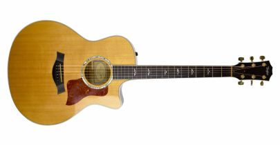 Pre-Owned Taylor 616ce (Natural)