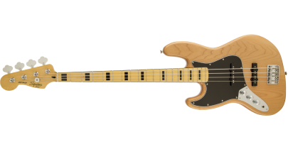 Squier Vintage Modified Jazz Bass, Natural (Left-Handed)