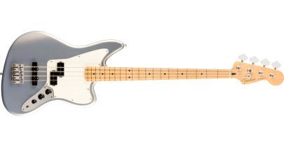 Fender Player Jaguar Bass, Silver