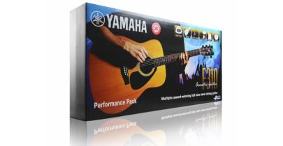 Yamaha F310 Acoustic Guitar Deluxe Package