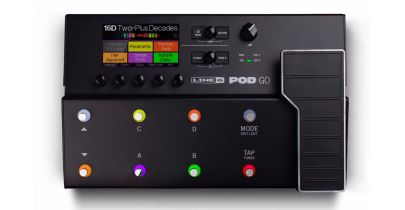Line 6 POD Go Guitar Effects Processor Pedal