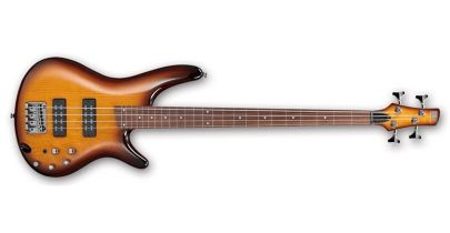 Ibanez SR370EF Fretless Bass, Brown Burst