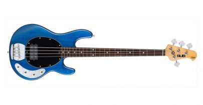 [EX-DEMO] Sterling by Music Man Sub Ray 4 Bass Guitar in Trans Blue Satin