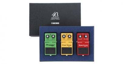 Boss Compact Pedal 40th Anniversary Box Set