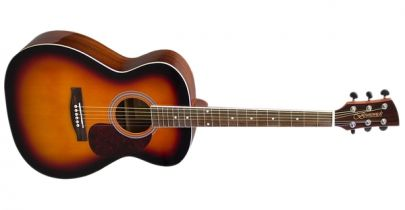 Brunswick BF200SB, Folk Acoustic Guitar, Sunburst