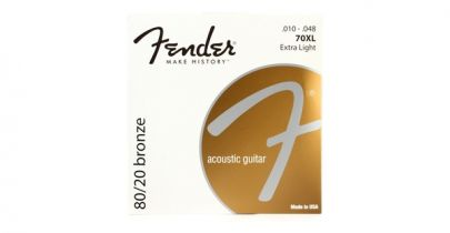 Fender 70XL 80/20 Bronze Extra Light Acoustic Strings