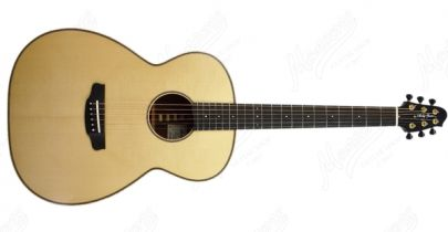 "Andy Manson Magpie 6, 25.5"" Scale Length, Natural"