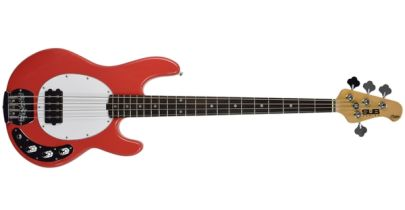 Sterling by Music Man SUB Ray 4, Rosewood Fingerboard, Fiesta Red