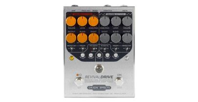 Origin Effects RevivalDRIVE Custom, Real Amp Overdrive