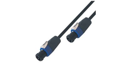 Kinsman 2-Core Speaker Cable, Neutrik Connectors, 6.5ft/2m