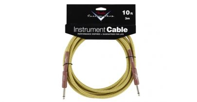 Fender Custom Shop Performance Series Cable, 10', Tweed