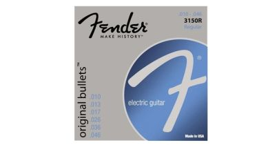 Fender Original Bullets Pure Nickel, 10-46