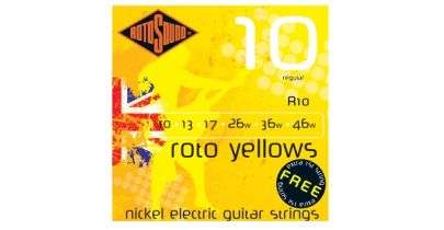 Rotosound Roto Yellows R10, 10-46