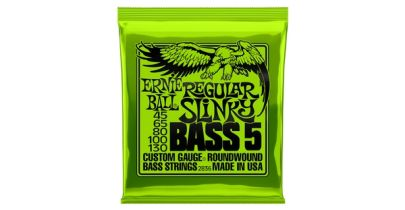 Ernie Ball 2836 Regular Slinky 5-String Bass 45-130