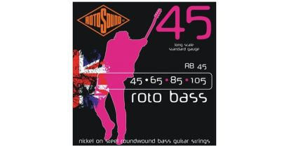 Rotosound RB45 Rotobass 45-105 Nickel Round Wound Bass Strings
