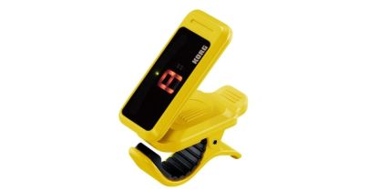 Korg Pitchclip Clip-On tuner - Yellow