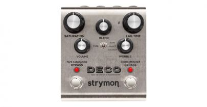 Strymon Deco, Tape Saturation & Doubletracker Pedal