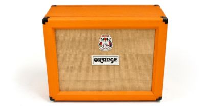 "Orange 2x12"" Open Back Cabinet, Orange (PPC212OB)"