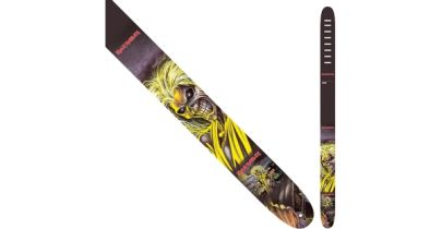 "Perri's Leathers 1333 Iron Maiden ""Killers"" Guitar Strap"