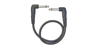 D'Addario Planet Waves Classic Series 1ft Right Angle Patch Cable