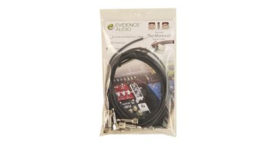 Evidence Audio SIS & Monorail Patch Cable Kit Black Graphite