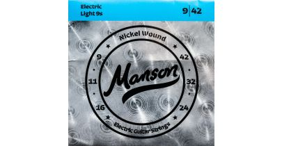 Manson Electric 9's - Electric Guitar Strings Gauge 9-42