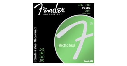 Fender® Stainless 9050's Flatwound strings, .45 - .100