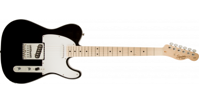 Squier Affinity Telecaster, Maple Fingerboard, Black
