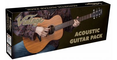 Vintage V300 Folk Guitar Pack