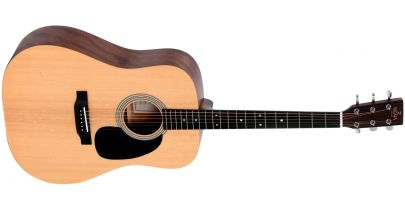 Sigma ST Series DM-ST Dreadnought Acoustic, Natural